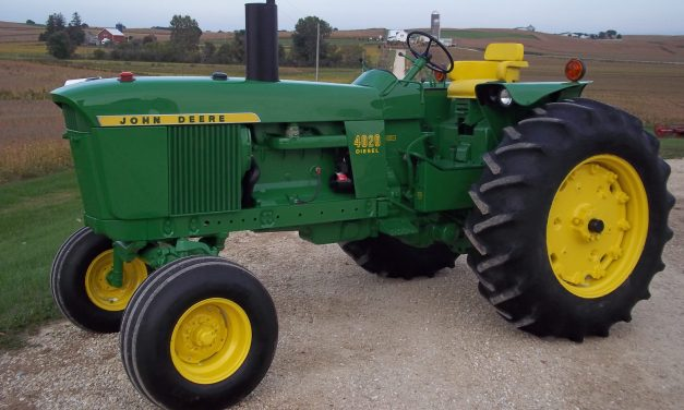 The John Deere 4020. The Tractor that Won't Go Away.
