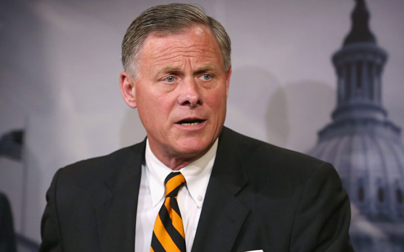 Richard Burr Turns Left